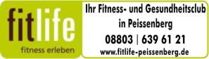 Fitllife Fitness- und Gesundheitsclub Peißenberg