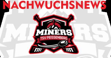 Neue Unterstützung für U15 der Young Miners der Abteilung Eishockey im TSV Peißenberg