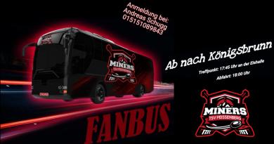 Nächster Halt – Königsbrunn – Fanbus fährt